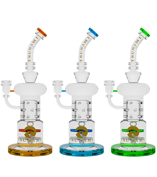 "Double Propeller Drum Perc Recycler (12"")"