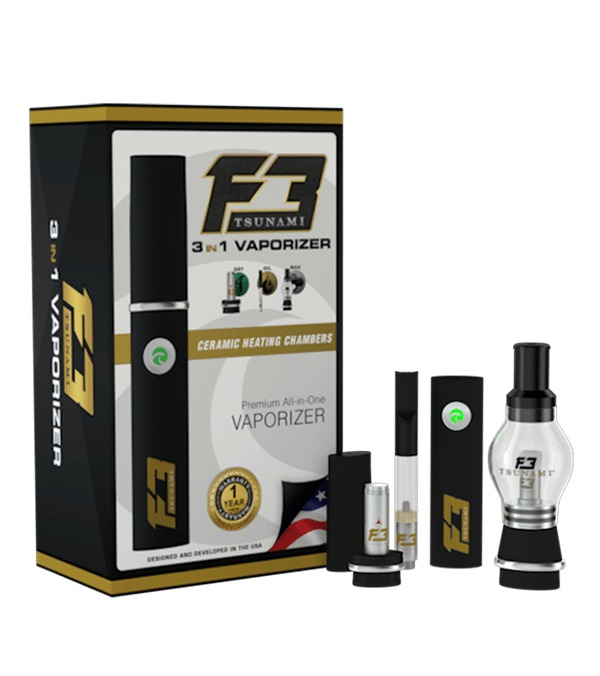F3 3-IN-1 Vaporizer Pen Kit
