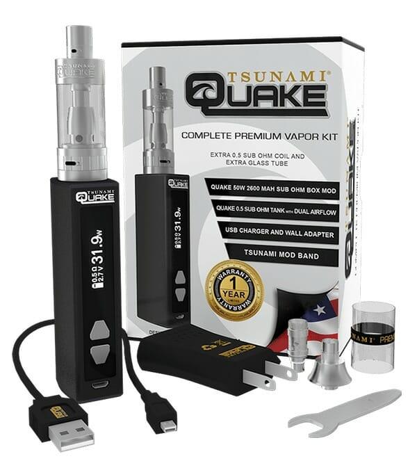 Quake Box Mod Vapor Kit 1