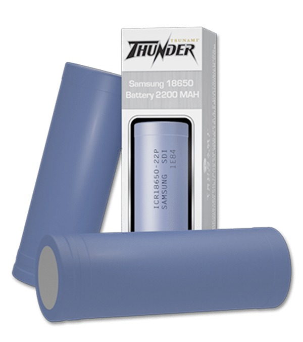 Thunder Samsung 18650 Battery
