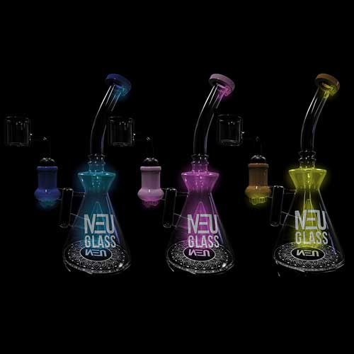 NEU Concentrate Rig UV Cone Drip (7″)